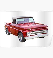 1965 Chevrolet Pickup Truck Poster