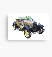 1931 Ford Model A Cabriolet Antique Car Canvas Print