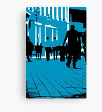 London Office Workers Canvas Print