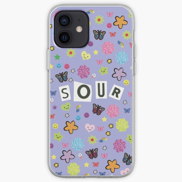 Sour Title + Stickers iPhone Soft Case