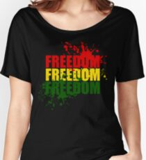 Reggae Freedom Women's Relaxed Fit T-Shirt