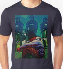 NON-VIOLENT BLACK RAGE Unisex T-Shirt