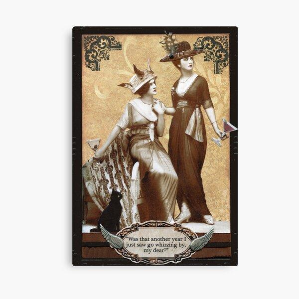 Zelda & Zalinda Birthday Card Canvas Print