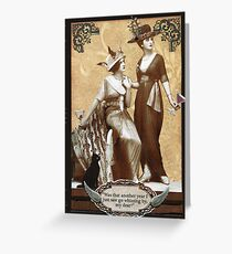 Zelda & Zalinda Birthday Card Greeting Card