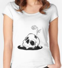 Life After Death Women's Fitted Scoop T-Shirt