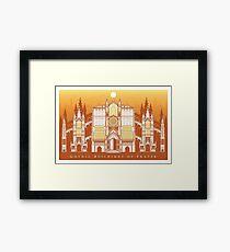 Gothic Buildings of Prayer Framed Print