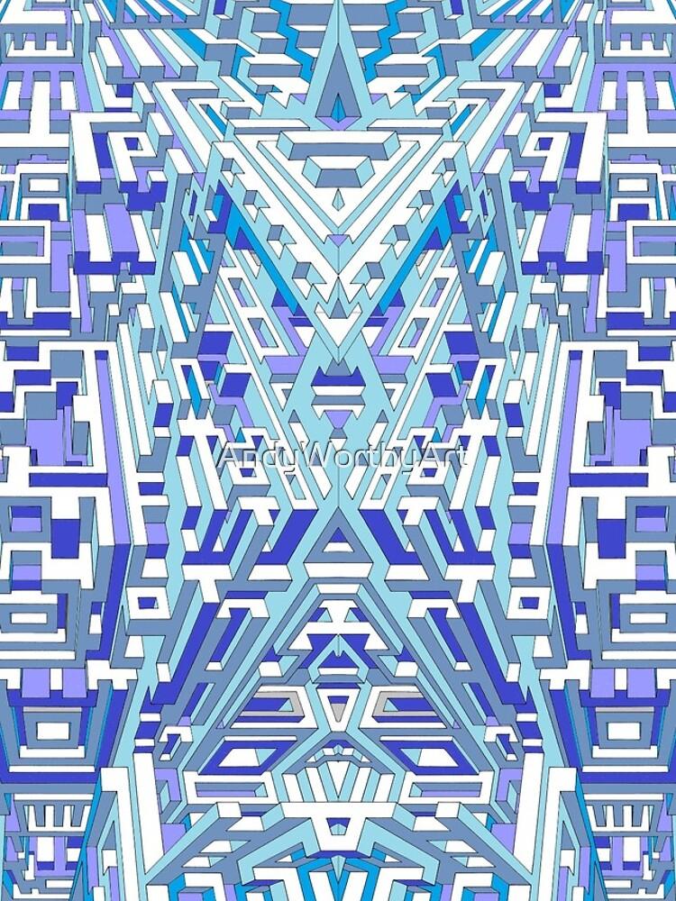 Deep Blue Three von AndyWorthyArt