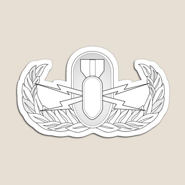 Explosive Ordnance Disposal Badge - United States Armed Forces  Magnet