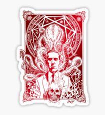 lovecraft Cthulhu Sticker