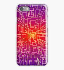 one point burst iPhone Case/Skin