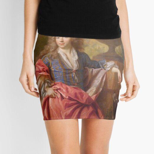 Portrait of a gentleman - classic art merch Mini Skirt