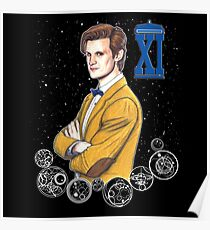 Eleventh Doctor (Matt Smith) Poster