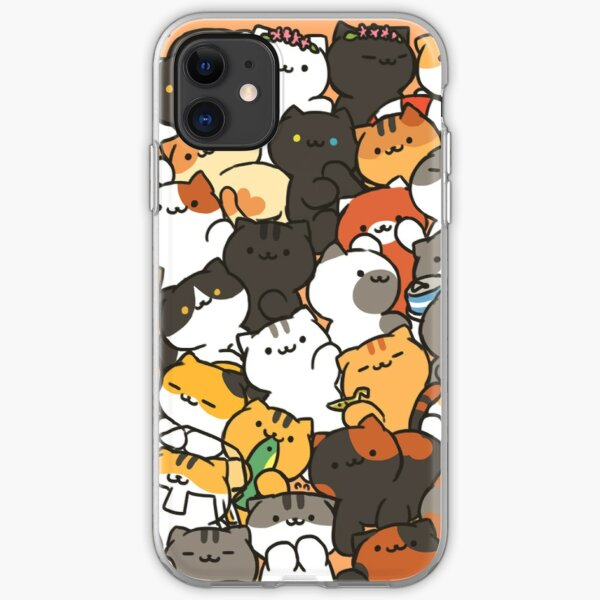 Neko atsume iPhone Soft Case