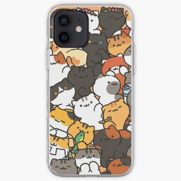 Neko atsume iPhone Soft Case