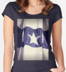 Banner Star Women's Fitted Scoop T-Shirt