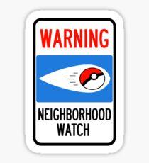 Neighborhood Poke Watch Sticker