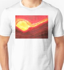 Wildfire original painting Unisex T-Shirt