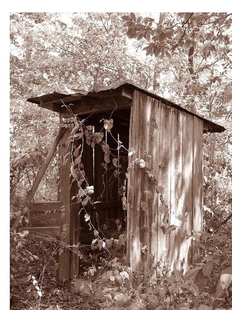 Outhouse by KnockKnockPhoto