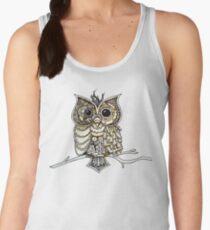 Steampunk Owl Women's Tank Top