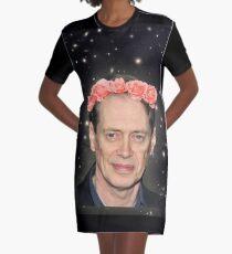 Buscemi weit draußen T-Shirt Kleid
