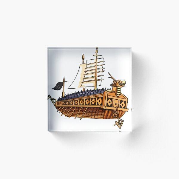 Korean Turtle Ship Acrylic Block