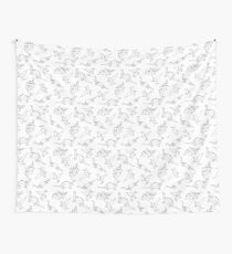 Origami Dinosaurs Wall Tapestry