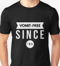 Vomit - free Since '93 Slim Fit T-Shirt