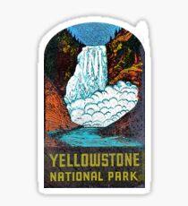 Yellowstone Park Vintage Sticker USA Sticker