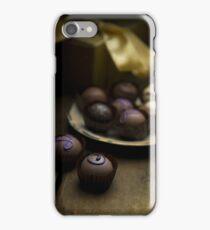 Chocolate pralines iPhone Case/Skin