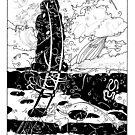 Moai#3 Ahu Ko Peka by JTLazenby