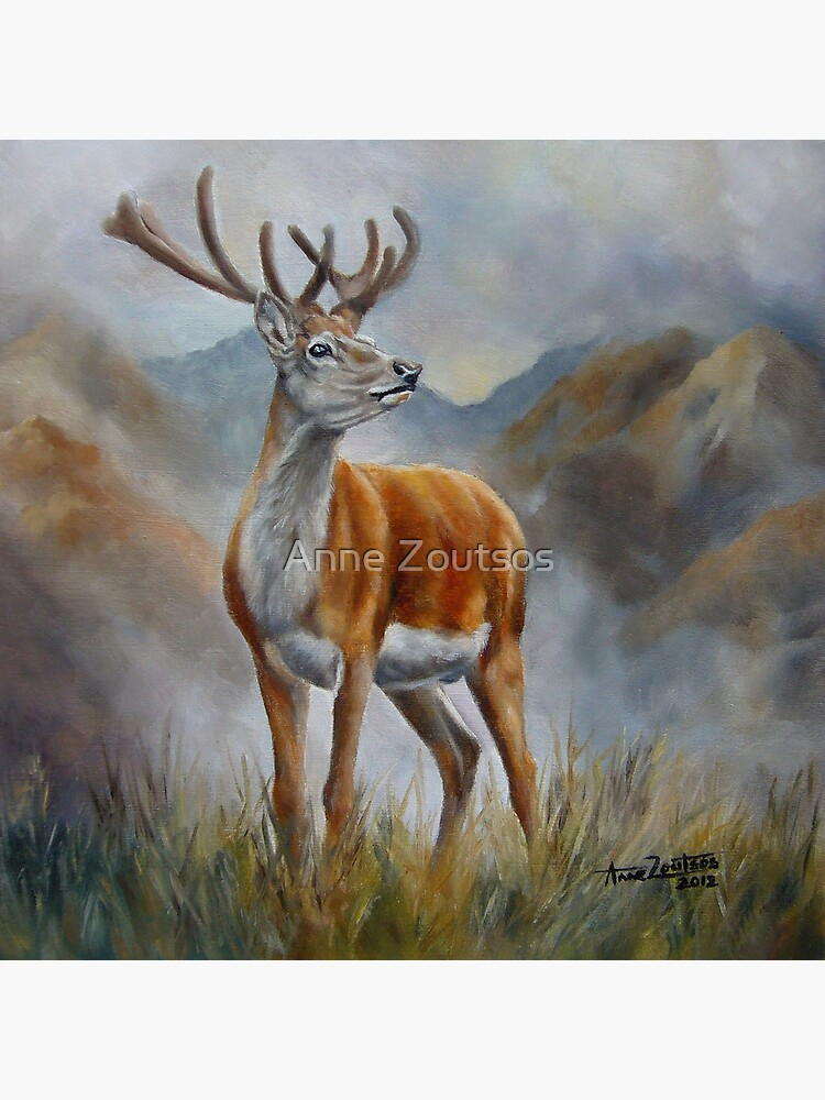Prince Of The Glen (red stag) by AnneZ