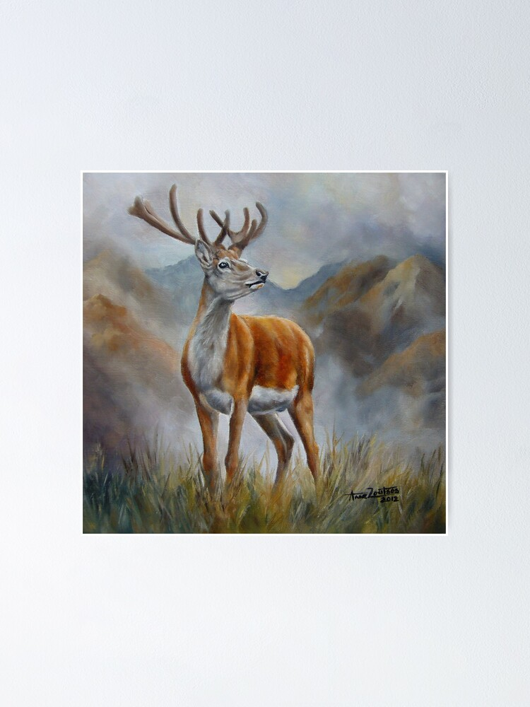 Alternate view of Prince Of The Glen (red stag) Poster