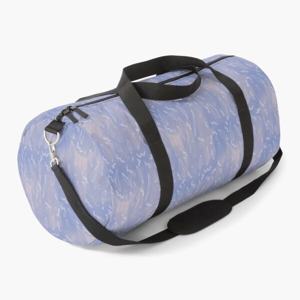 DREAMY NATURE PATTERN WITH WHITE LEAVES Duffle Bag