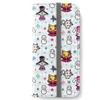 Karneval - White  iPhone Wallet/Case/Skin