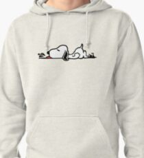 A Tired Snoopy Pullover Hoodie