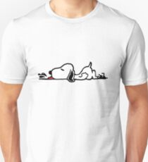 A Tired Snoopy T-Shirt