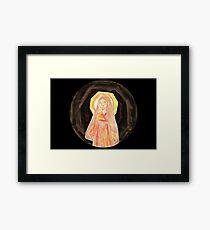 Amaterasu - Goddess  Framed Print