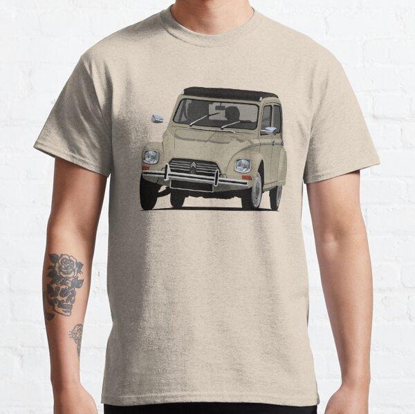 Citroën Dyane - Beige - Illustration T-shirt classique