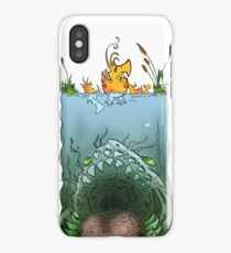 Meanwhile...  iPhone Case/Skin