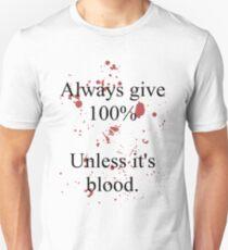 Blood. T-Shirt