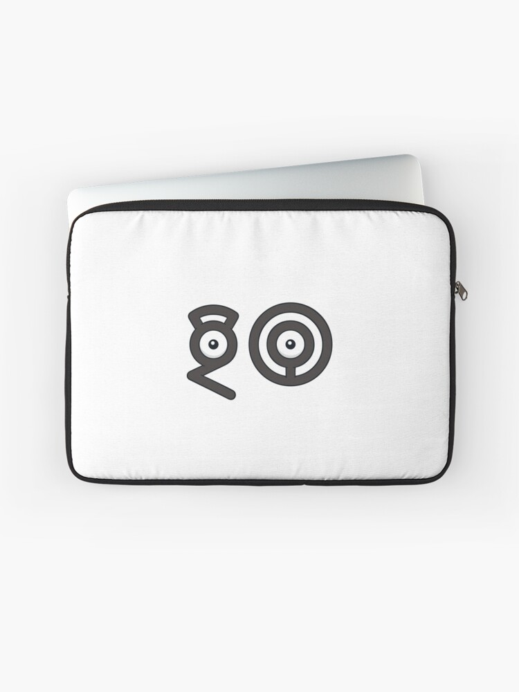 Pokemon Go - Unown - Go | Laptop Sleeve