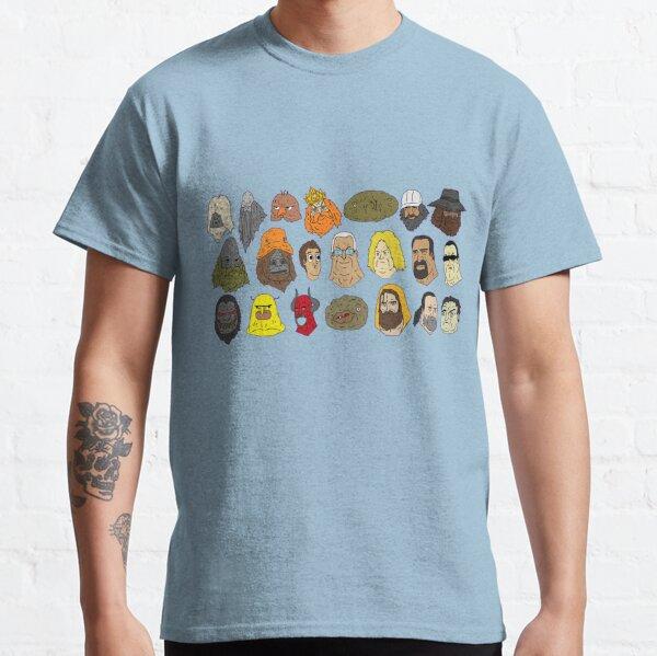 Big Lez Show Characters Classic T-Shirt