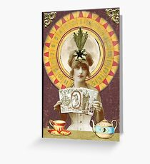 Wheel of Fortune Oracle Greeting Card