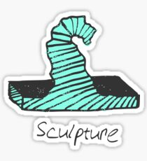 sculpture Sticker