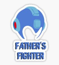 Father's Fighter Sticker
