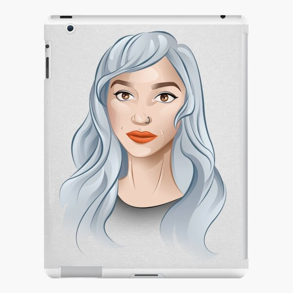 Portrait of a Girl iPad Snap Case