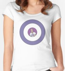 Clint Barton Women's Fitted Scoop T-Shirt