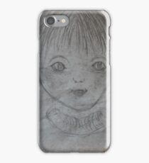 Whimsical Art - Playful Little Boy iPhone Case/Skin