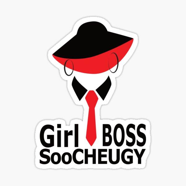 Girl Boss Soo Cheugy T-Shirt Sticker