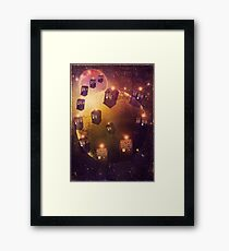 All Twelve of them...No Sir...All Thirteen Framed Print